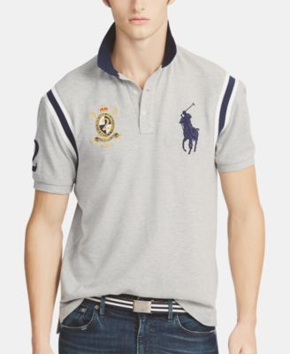 Men's Slim Novelty For Ralph Lauren Polo PoloCreated Mesh Fit ZTwPXuOki