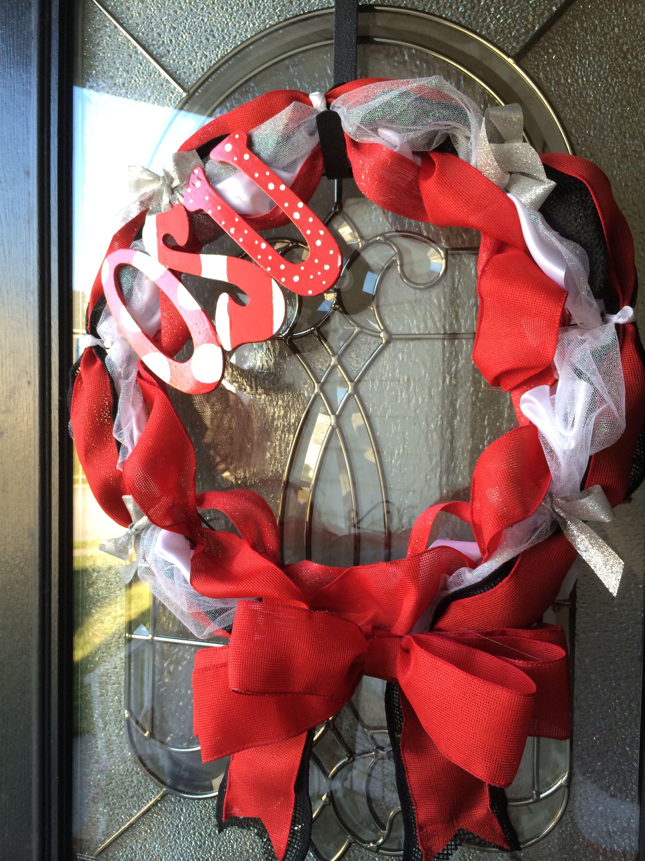 Bc mom'a crafty 4th of july wreath, Crafty, 4th of july