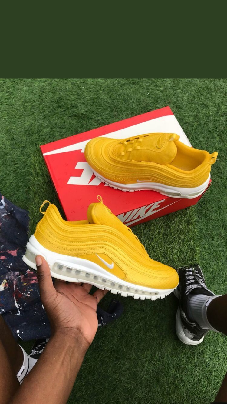 Nike Air Max 97 Amarillo Tenis Nike para Hombre en