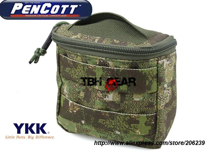 TMC EMT MOLLE Medic Pouch Disposable Glove Pouch PenCott GreenZone+Free shipping(SKU12050199)