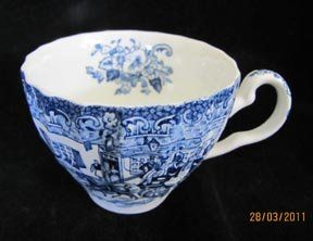 """""""Coaching Scenes"""" Johnson Brothers was paternal Grandmothers stoneware. We unfornately did not get her's when she passed; so little by little we collected nearly whole set. My daughter now has, and uses every day."""