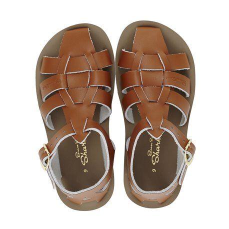 54c08f577 Salt Water - Sharks - Billy Lou Kids Shoes