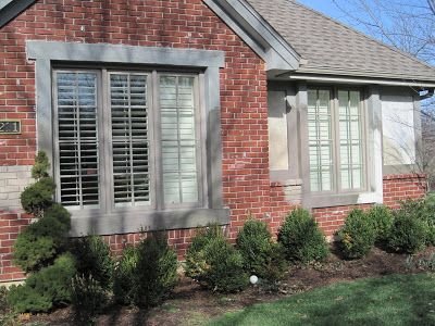 Red Brick House Color Schemes Exterior Paint With