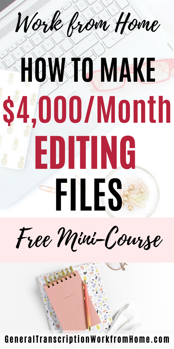 Make Money Editing Legal Files