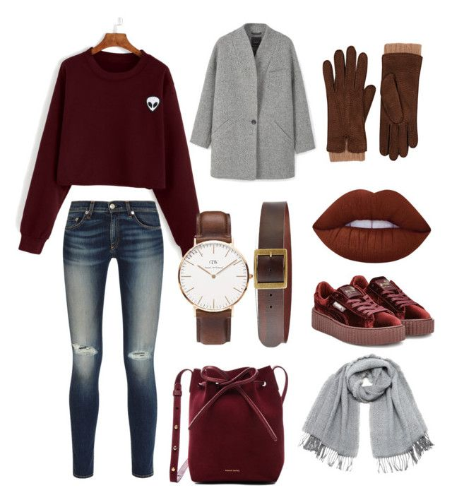 """""""Country 🤠"""" by clanewi ❤ liked on Polyvore featuring Puma, Lime Crime, Vero Moda, MANGO, Mansur Gavriel, Barneys New York, Frame, Daniel Wellington, rag & bone and country"""