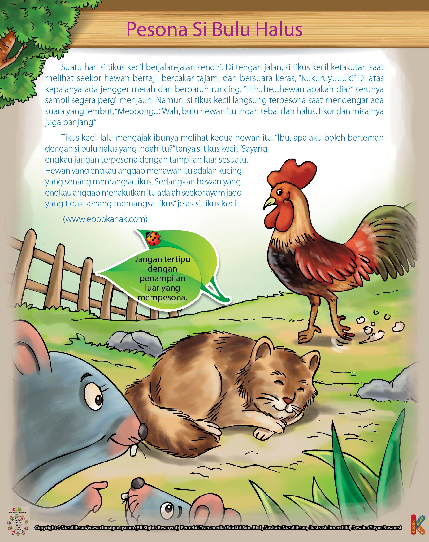 Tikus Kecil Dan Si Jengger Merah Dongeng Dongeng Sebelum Tidur Buku Tua