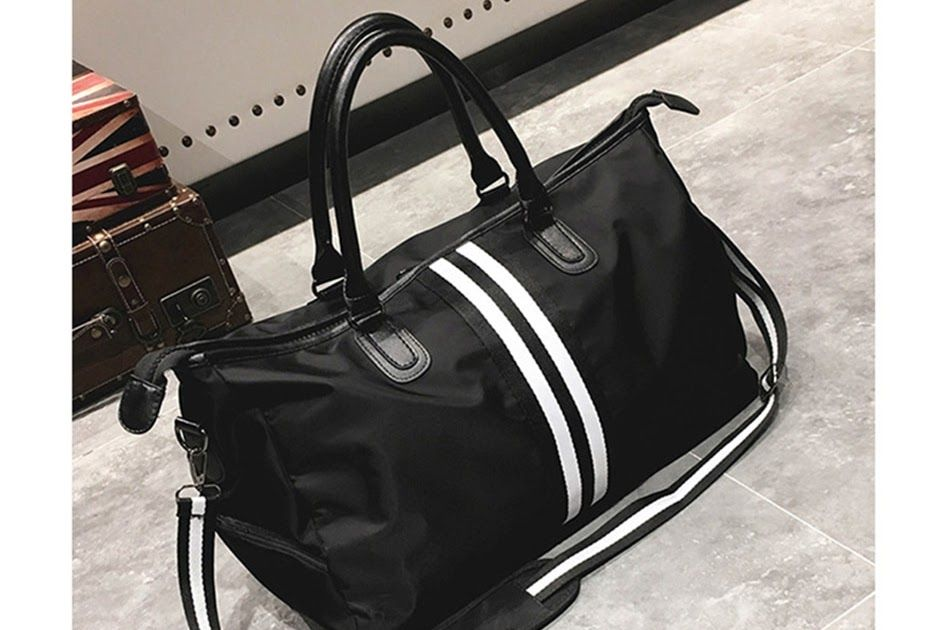 cfde6e77d2cc Free shipping New Gym Bag Fitness Sack Duffel Bag Waterproof Travel  Shoulder Crossbody Handbag Tote Outdoor Sport Bag For Women Yoga Bolsa Men