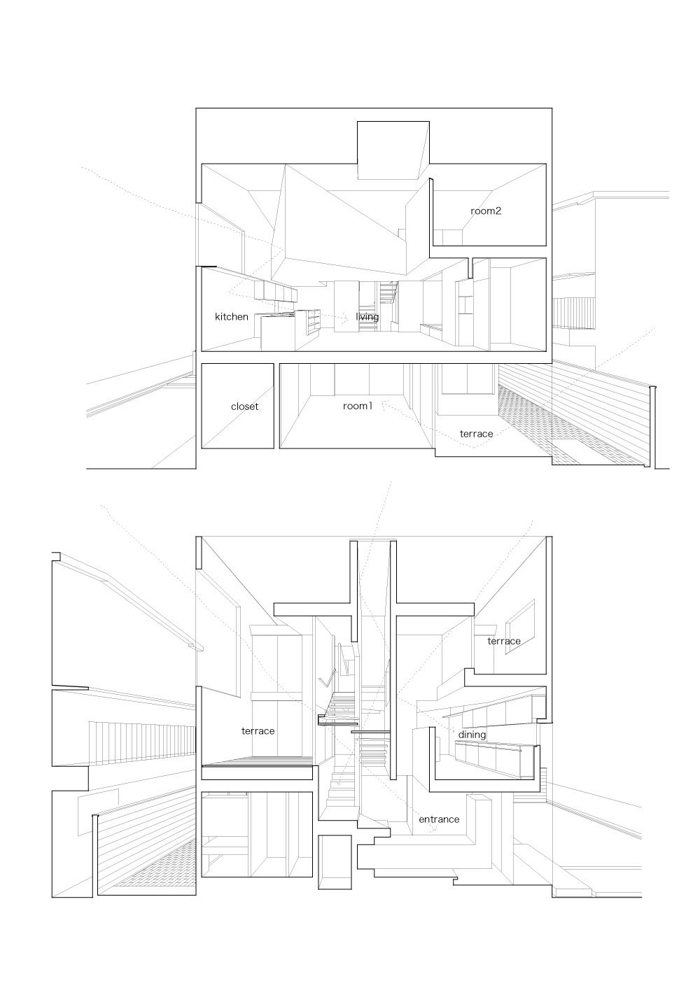 Osaka, Japan Tutanaga House SHOGO ARATANI ARCHITECT & ASSOCIATES