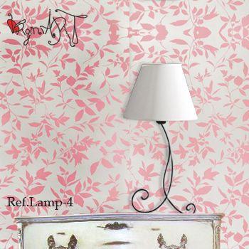 Lamparas de noche http://virginiart.es  Diseñamos y realizamos muebles en forja y metal. Consúltanos por precios y acabados.