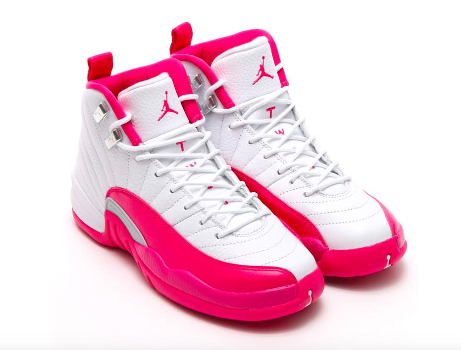 pink air jordan shoes