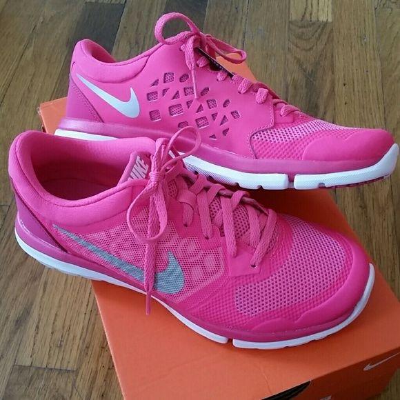 New Pink Nike Flex Run 2015 size 7.5 NWT