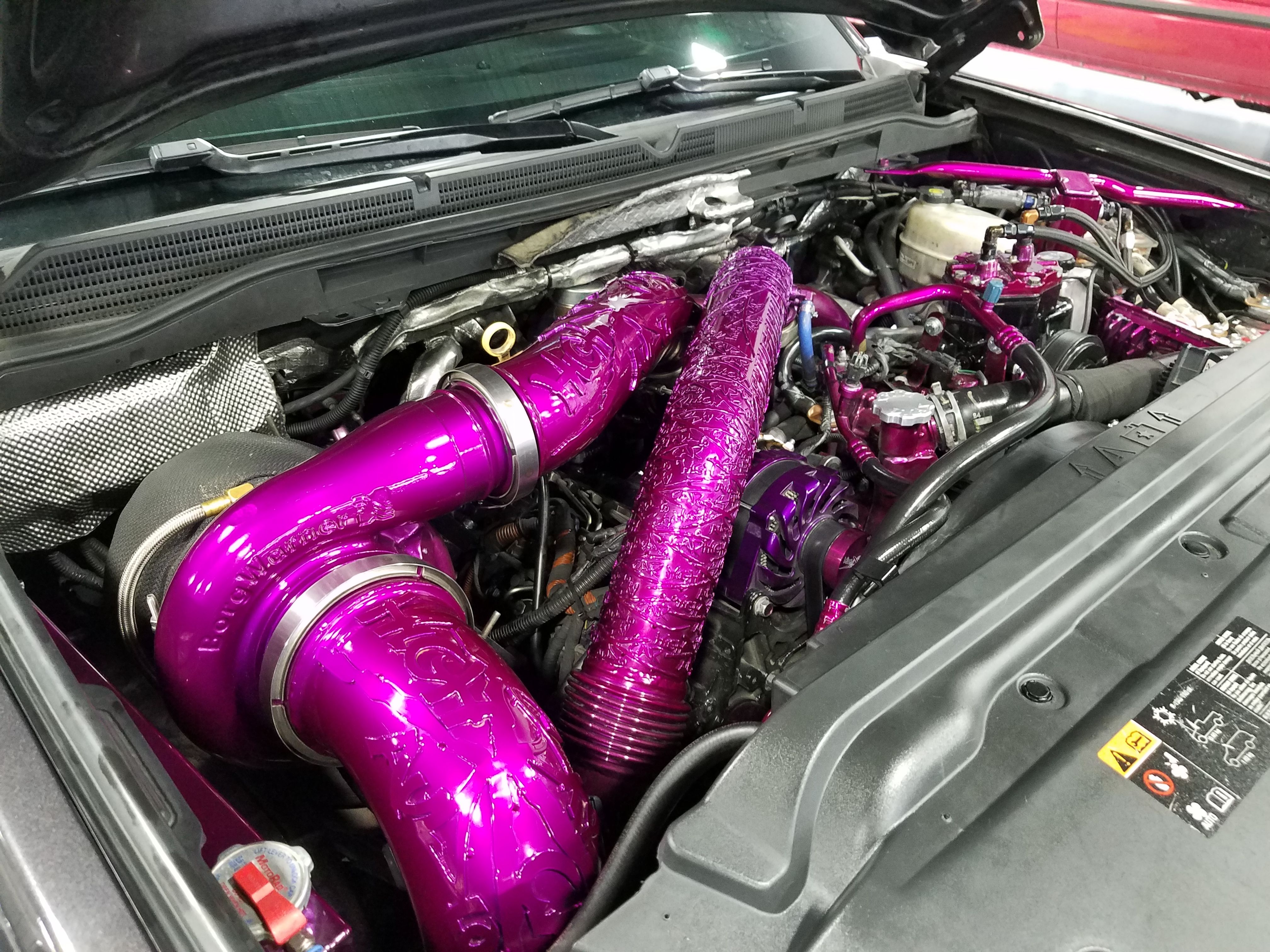 1200hp 6 6L Duramax Compound Turbo System build by