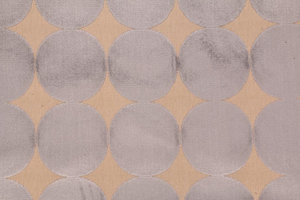 Robert Allen Plush Dotscape Belgian Velvet Upholstery Fabric in Dove $14.95 per yard #velvetupholsteryfabric