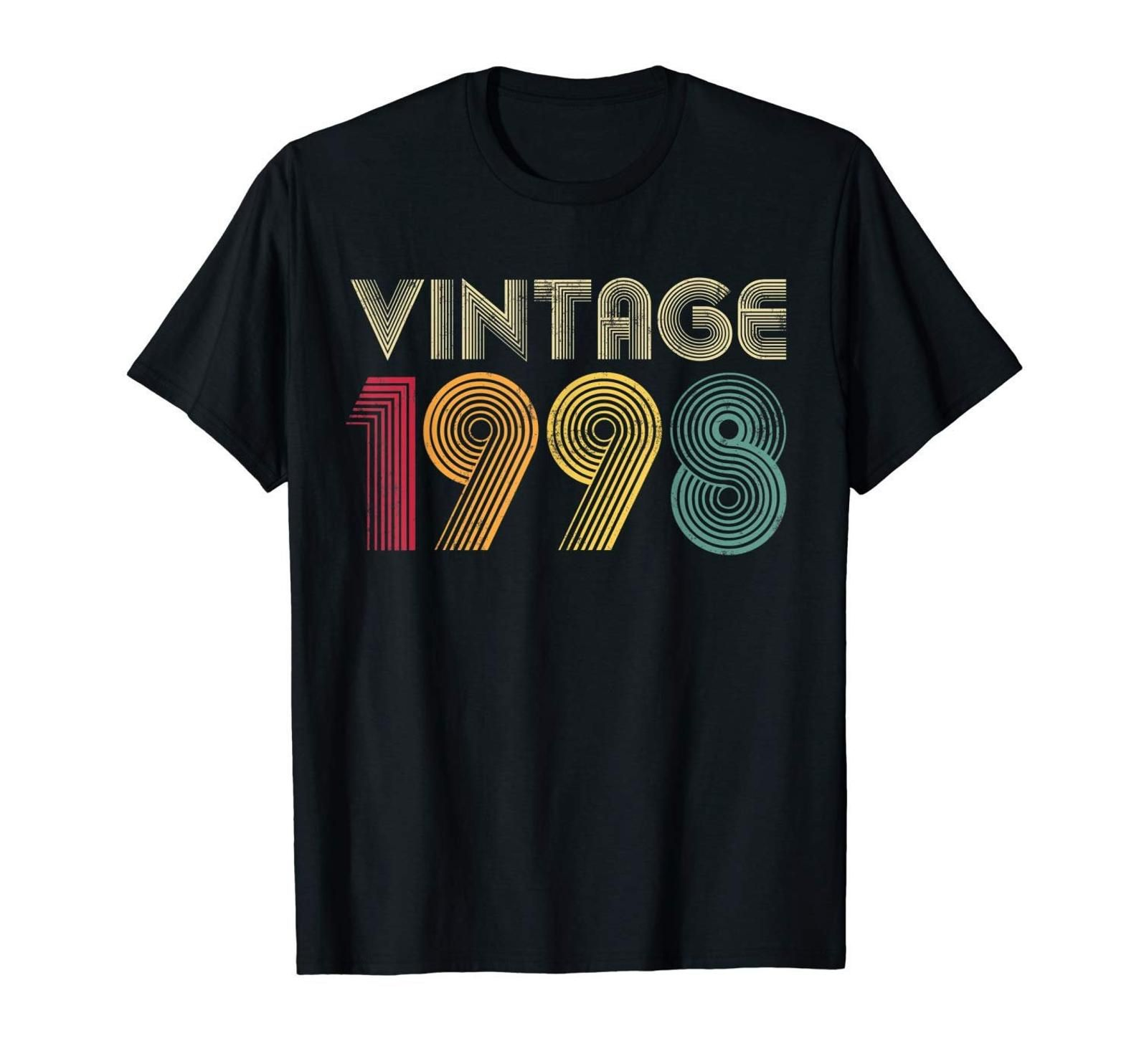 21st birthday gift vintage 1998 shirt for women men