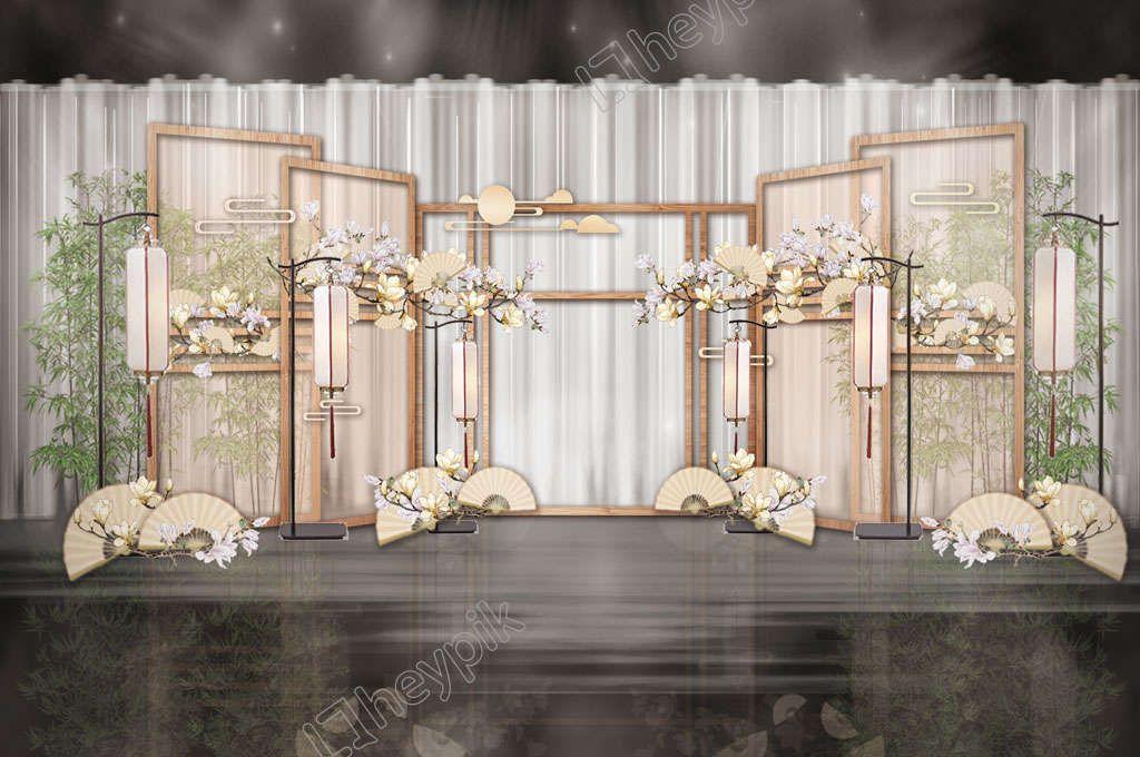 Japanese Style Simple Magnolia Soya Wedding Welcome Tooling Rendering Dekorasi Perkawinan Perkawinan Dekorasi - Perkawinan Zebra, Chimera Dan 18 Hewan Kawin Silang Beda Spesies Yang Berhasil Halaman 2