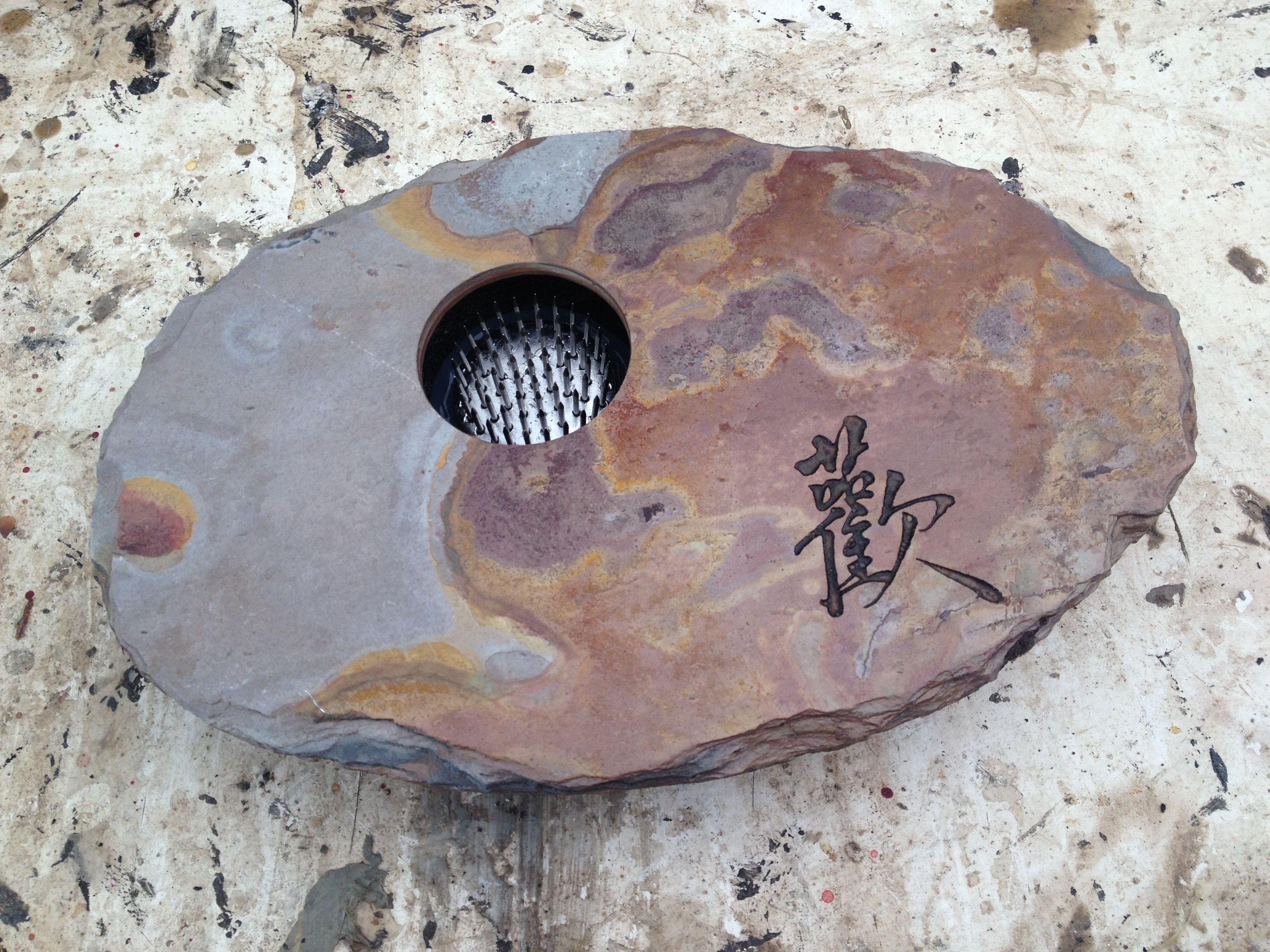 Joy design on slate ikebana vase handmade in noosa australia joy design on slate ikebana vase handmade in noosa australia floridaeventfo Images