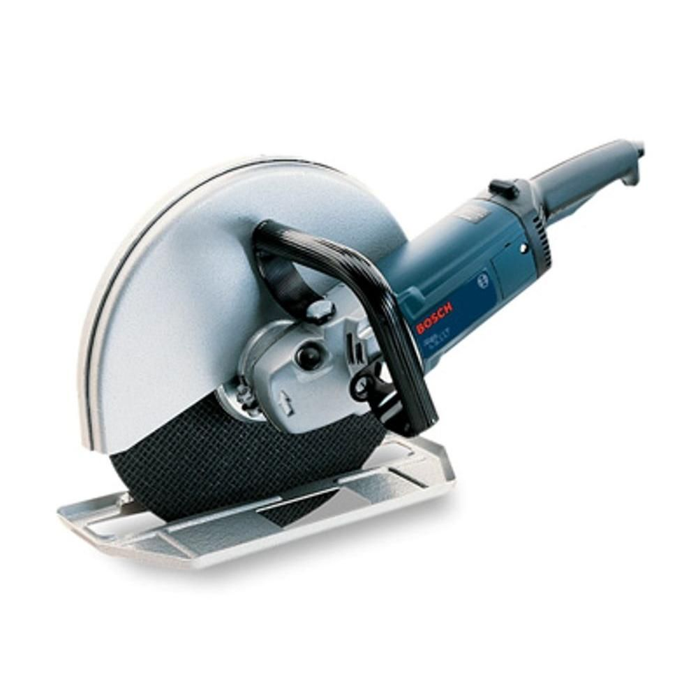 Bosch 15 Amp Corded 12 In Cutoff Machine 1364 The Home Depot In 2020 Bosch Best Cordless Circular Saw Compact Circular Saw