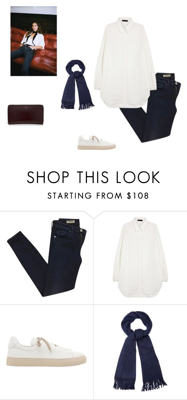"""""""heavy"""" by piainl ❤ liked on Polyvore featuring AG Adriano Goldschmied, The Row, Ports 1961 and Acne Studios"""