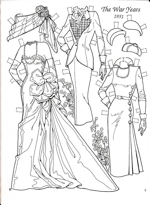 War years 1951 paper doll charles ventura nena, i love my mom coloring pages