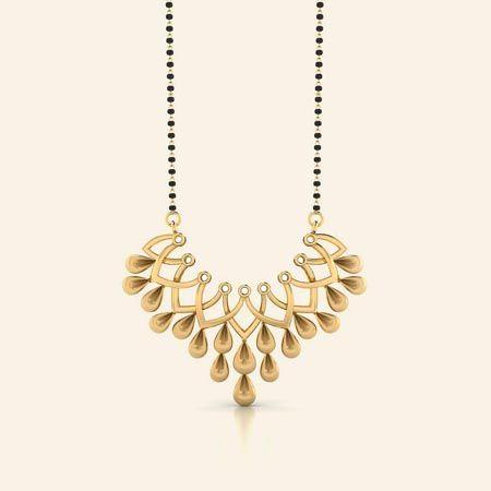 Girija gold magalsutra Mangalsutra Pinterest Gold Gold