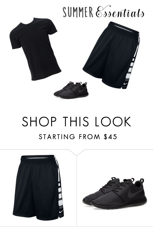 """""""sportswear"""" by rubylove123 ❤ liked on Polyvore featuring NIKE, men's fashion, menswear and summermenswearessentials"""