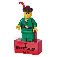 Lego Exclusive Bricktober 1990 Retro Mini Figure 2 Forestman Bagged By Lego 4 85 Display These Rare Minifigures On Your Fridge Legos Lego Lego Minifigures