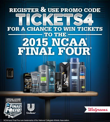 NCAA® Final Four® with Unilever Sweepstakes | Sweep Tight