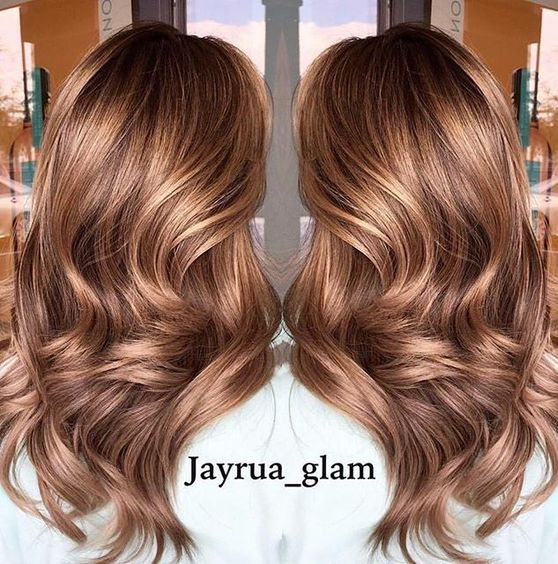 glowing bronze in 2018 hair colors hair balayage hair styles