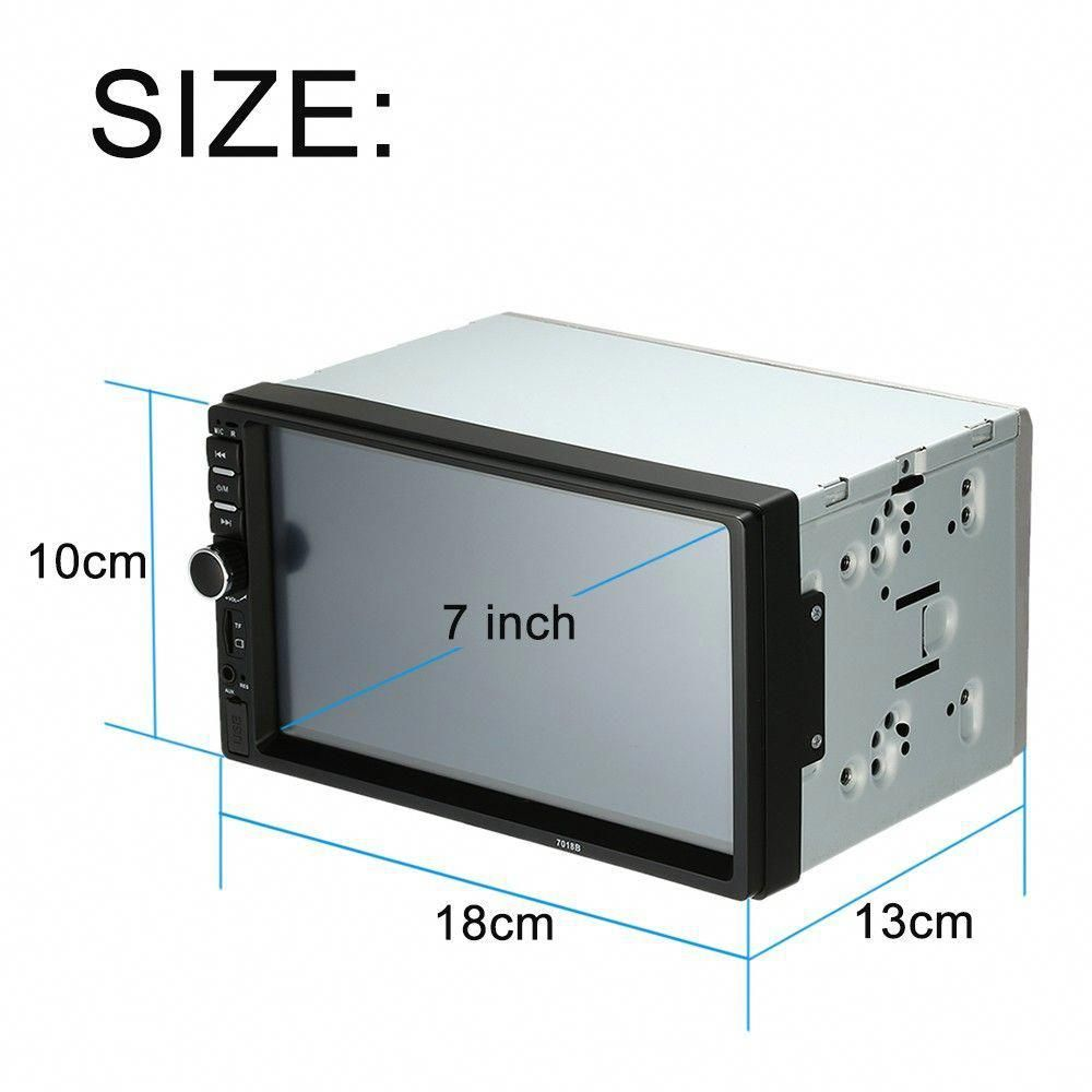 Only US$65.82, black 7 inch2 Din HD Car Stereo FM Radio MP5 - Tomtop ...
