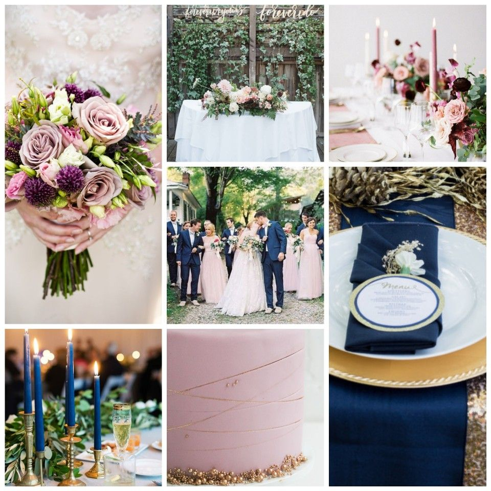 Finalized Wedding Color Palette