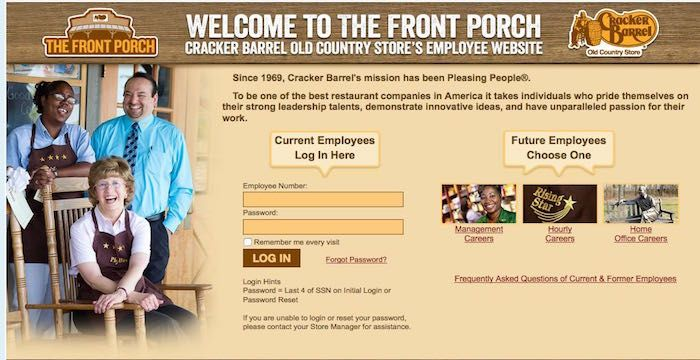 cracker barrel employee reviews