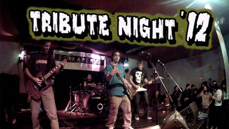 Otro año mas del Tribute Night, una noche de versiones y fiesta en las que se recuerda a bandas que de alguna manera nos han marcado y siguen influyendo la forma que tenemos de hacer música, de escuchar música y de vivir los conciertos.