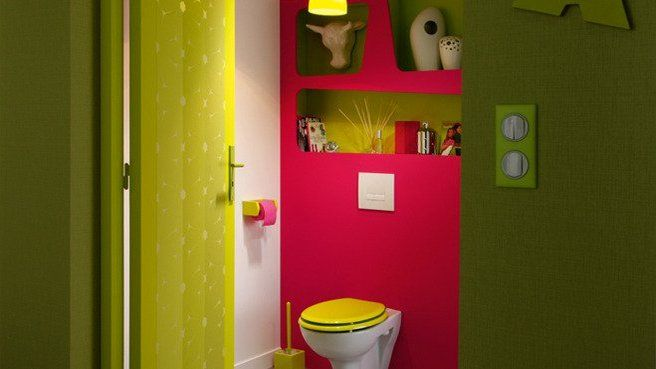 framboise vert pomme wc pinterest toilette les. Black Bedroom Furniture Sets. Home Design Ideas