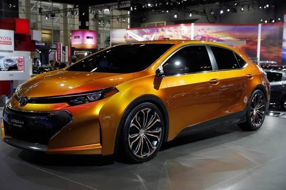 The Toyota Corolla Furia Concept Car At The Th Chicago Auto Show - Mccormick place car show