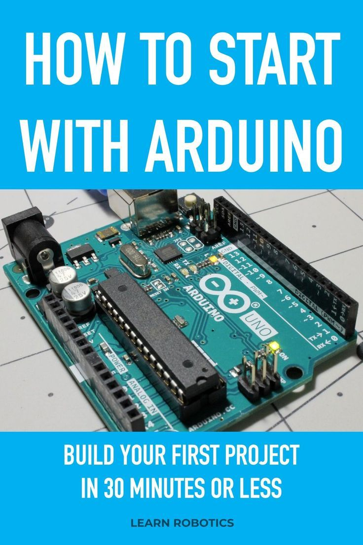 Four Steps to Writing an Arduino Program - Learn Robotics