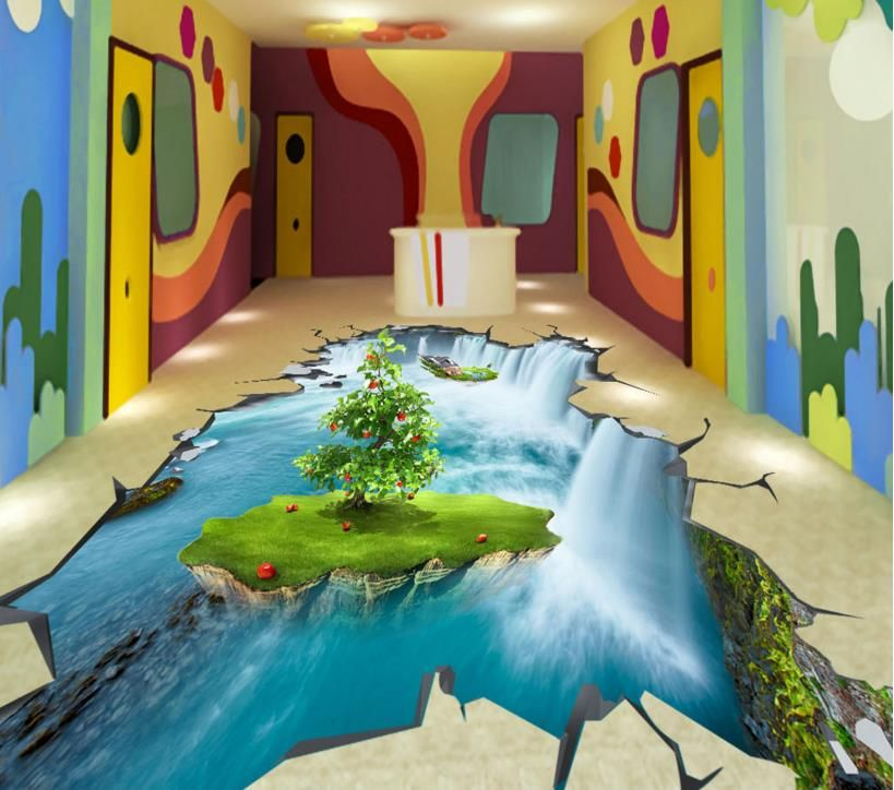 3d bodenfliesen küche selbstklebende Wasserdichte 3d wandbilder ...