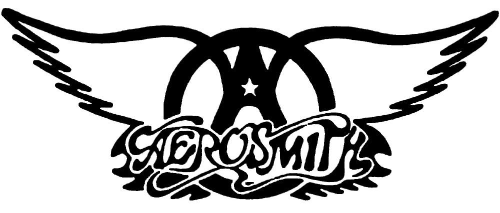 aerosmith wingbig logo metal rock and roll band top quality men s rh pinterest com Transparent Band Logos Metal Heavy Metal Band Logos
