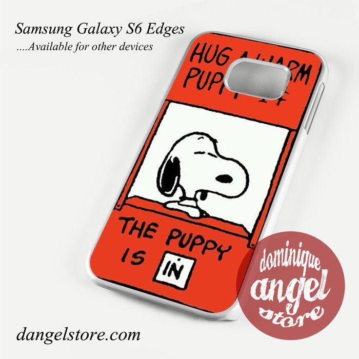 Snoopy Hug a warm Puppy Phone Case for Samsung Galaxy S3/S4/S5/S6/S6 Edge/S6 Edge Plus