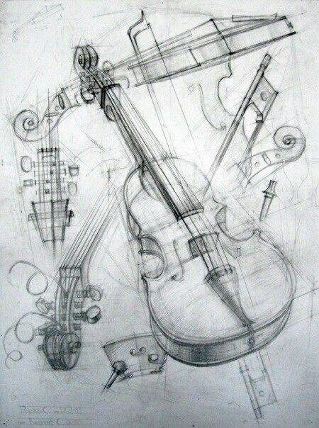 Diseno Del Bosquejo Dibujar Objetos Arte En