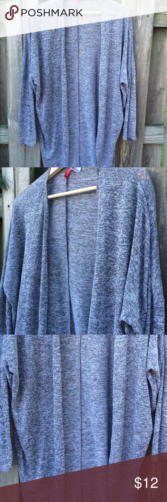 Divided H&M cardigan gray MED | Gray color, Gray and Summer