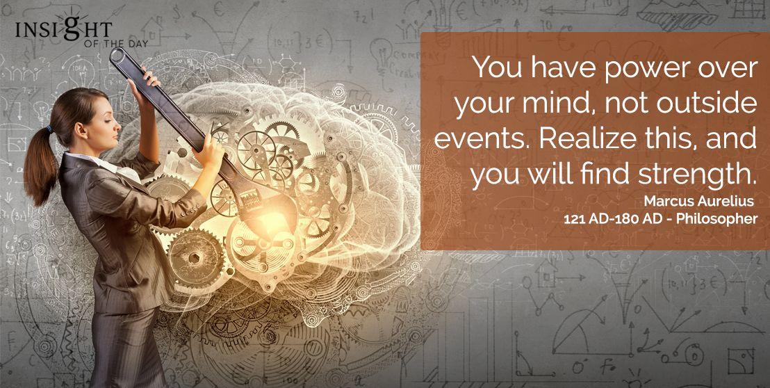 Motivational Quote by Marcus Aurelius in 2020 ...