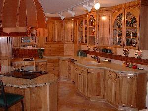 Mocha Oak All Wood Kitchen Cabinets Rta Kitchen Design