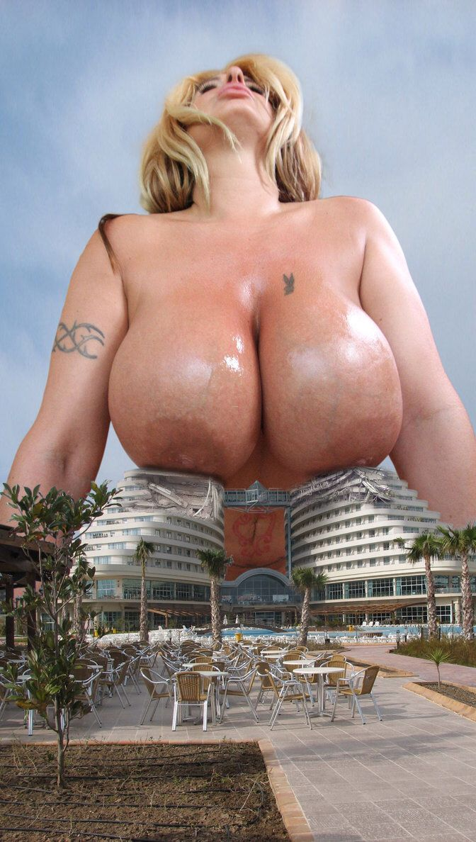 Giantess girl big boobs