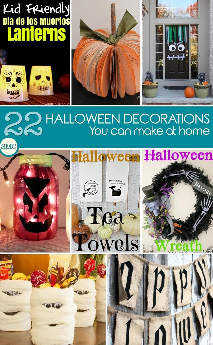 Turn Your Home Spooky with These Easy Halloween Decorations for Kids - cool homemade halloween decorations