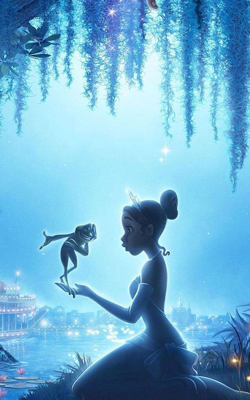 The Princess Tiana And The Frog Wallpaper In 2020 Disney