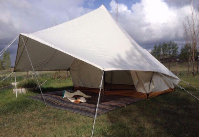 Split Tent - Ellis Canvas Tents - 1 & Split Torrent Tent   Tents