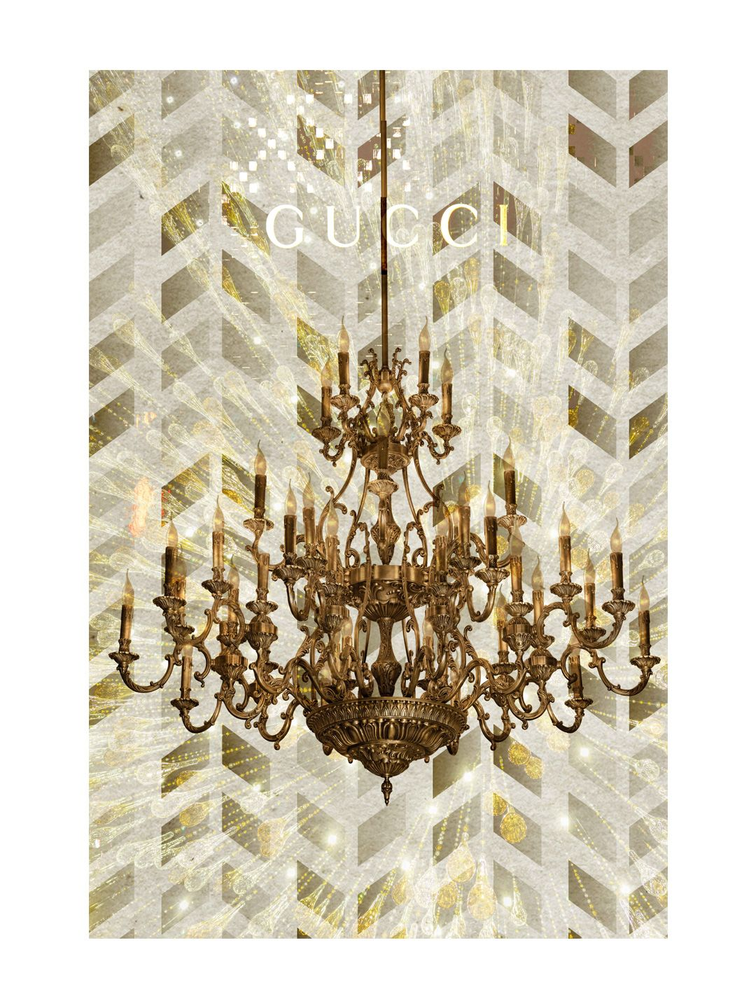 Chandelier by Marmont Hill at Gilt www.marmonthill.com. Gucci on ...