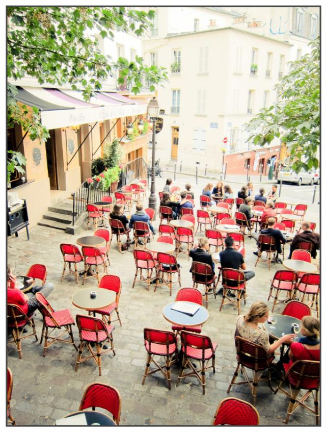 Elle Photographs Paris Cafe Paris City Guide Parisian Life
