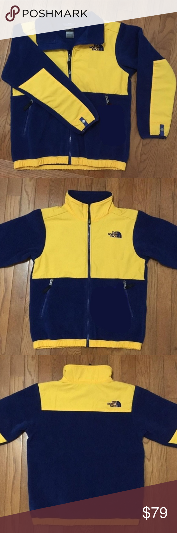 I Just Added This Listing On Poshmark Nwt Navy Blue Yellow North Face Denali Jacket Shopmycloset Poshmark Fas The North Face Jackets North Face Jacket [ 1740 x 580 Pixel ]