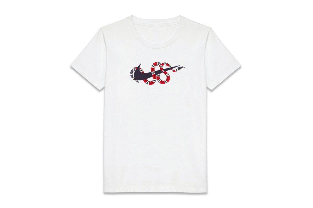 c19e8c0fd Coolporate Bootlegs the Gucci Snake Print T-Shirt | fashion | Mens ...